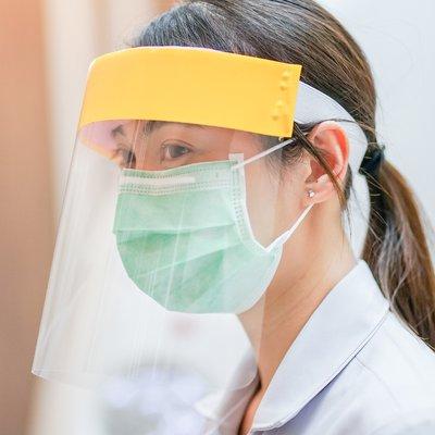 Image of nurse wearing PPE