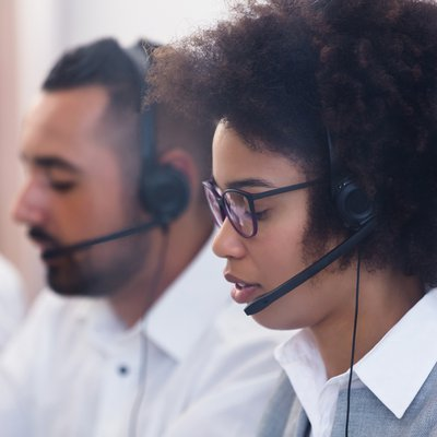 Image of call centre support